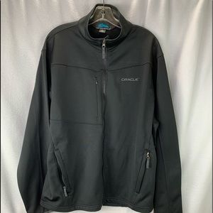 Oracle Corporation Mens Jacket Black Sz XL